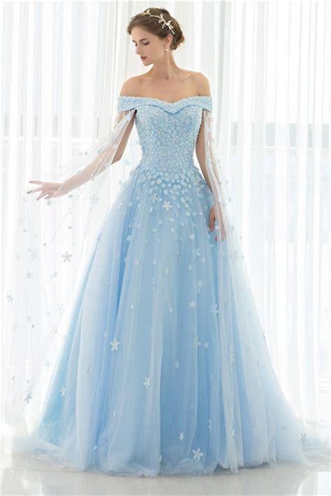 light blue off the shoulder dress fantastic ball gown off the shoulder light blue tulle