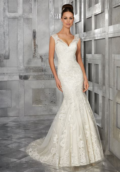 Wedding Style Dress by Monet Wedding Dress Style 5562 Morilee
