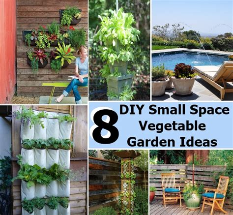 Diy Home Garden Ideas 8 Diy Small Space Vegetable Garden Ideas Diycozyworld Home Improvement And Garden Tips