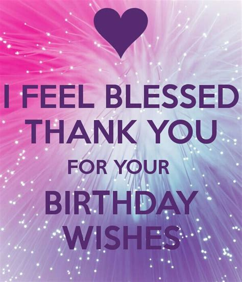 Thank You Card For Birthday Wishes 25 Best Ideas About Birthday Thank You Quotes On