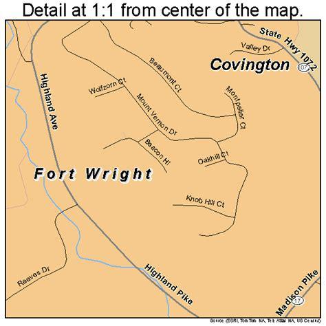 kentucky map fort fort wright kentucky map 2128612
