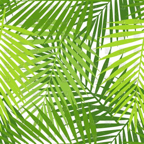 palm leaf pattern vector palm leaf seamless pattern royalty free vector clip art