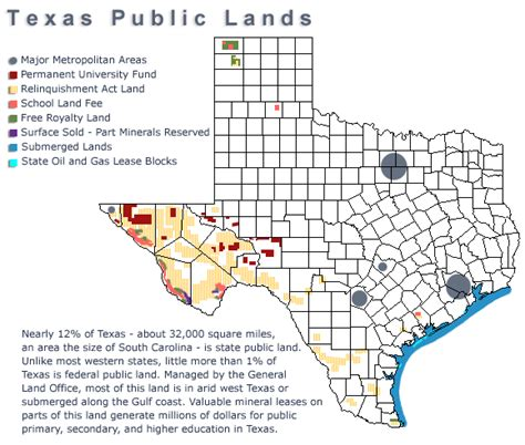 texas land maps texas lands managed by general land office