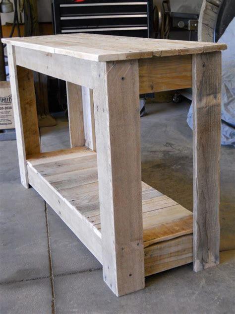 hallway pallet table wooden pallet furniture diy pallet
