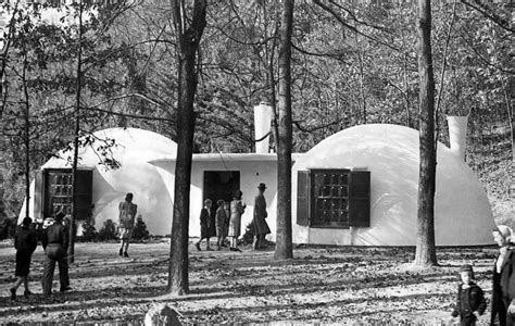 bubble house village japan bubble houses geodesic architecture that time when bubble houses were the future