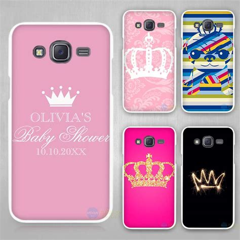 Huanmin Cover Samsung Galaxy E5 White princess crown king white plastic cover for samsung galaxy j1 j2 j3 j5 j7