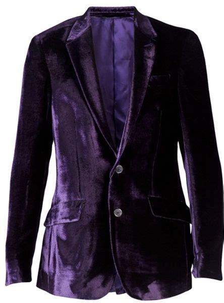 paul smith velvet blazer  purple  men lyst
