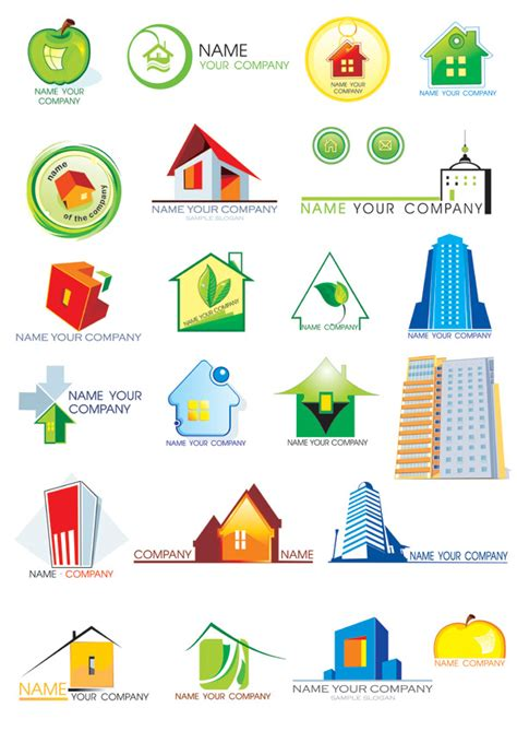 home design vector free download house theme logo vector graphic download free vectors