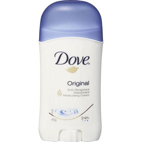 Dove Deo Stick dove antiperspirant deodorant stick original 40g woolworths