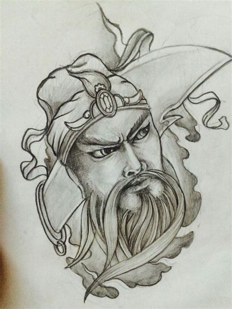 tattoo guan gong 12 best guan yu tatttoo images on pinterest guan yu