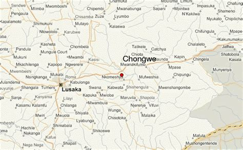 map of lusaka city chongwe location guide