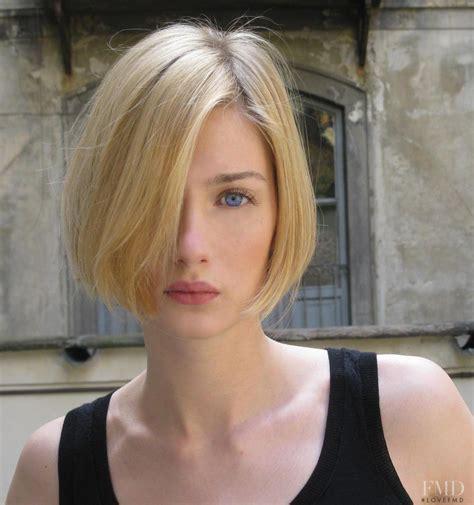german short female hairstyles photo of fashion model eva riccobono id 380894 models