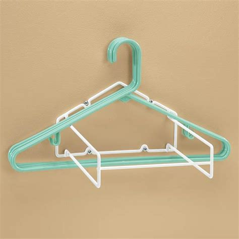 How To Make A Hanger Holder - hanger storage rack hanger stacker walter