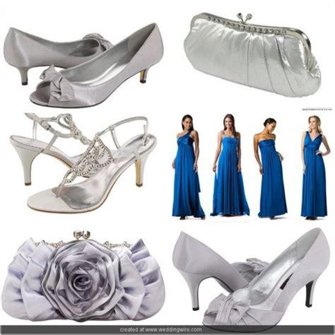 royal blue bm dresses black or silver shoes weddingbee
