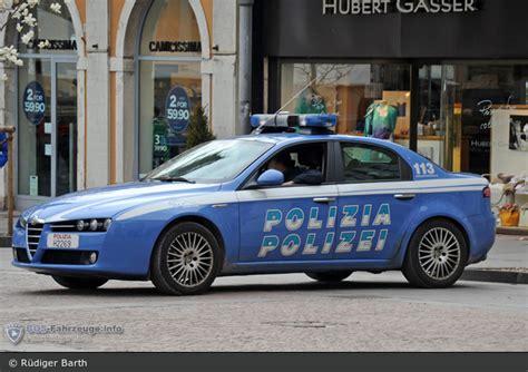 polizia di stato squadra volante einsatzfahrzeug bolzano polizia di stato squadra
