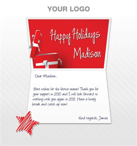 happy holidays email card template greeting cards for business ecards