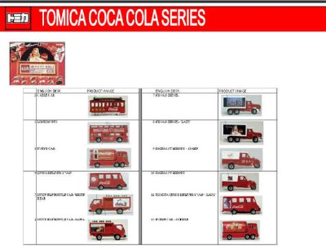 Truck Cocacola Series By Tomica pj car tomica coca cola series