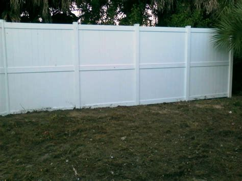 8 foot fence sections elite vinyl fencing vinyl privacy fencing the concord