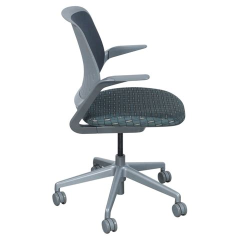 steelcase cobi chair dimensions steelcase cobi used gray mesh conference chair blue