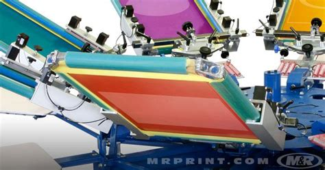 6 color screen printing press chameleon 174 manual screen printing press textile screen