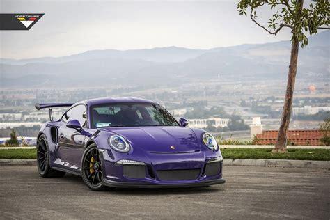 porsche 911 gt3 modified purple vorsteiner porsche 911 gt3 rs cars modified