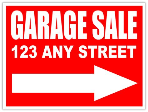diy printable awesome garage sale signs for our upcoming community