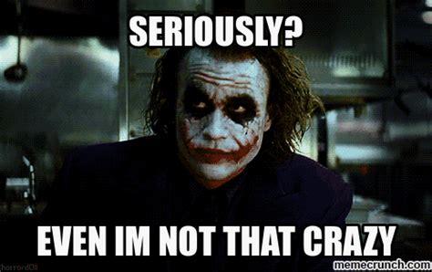 Crazy Face Meme - crazy people scare joker