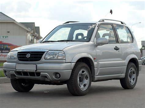 2002 Suzuki Grand Vitara Specs 2002 Suzuki Grand Vitara Pics 1 6 Gasoline Fr Or Rr