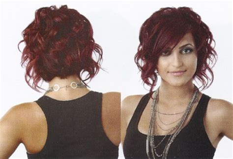 ways to style inverted bobs sassy layered inverted bob cute below chin a line bob