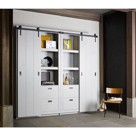 Armoir Design by Armoire Design Bois Porte Coulissante Barn By Drawer