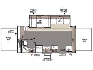 Rockwood Roo Floor Plans by 2015 Rockwood Roo 21ss Floor Plan