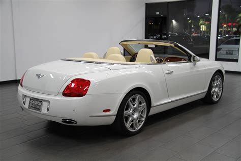 used bentley interior 2007 bentley continental gtc magnolia interior stock