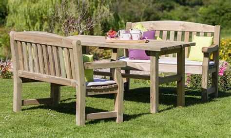 Patio Table Clearance Quality Wooden Garden Furniture From Garden Furniture Land