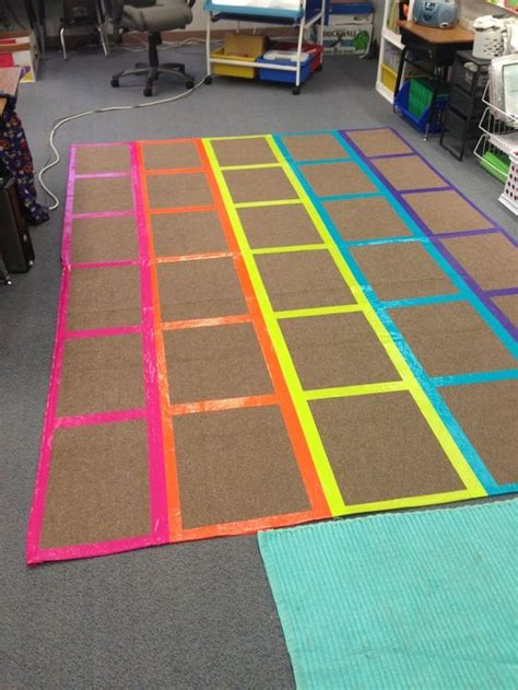 classroom rugs diy classroom management rug i used different color duct