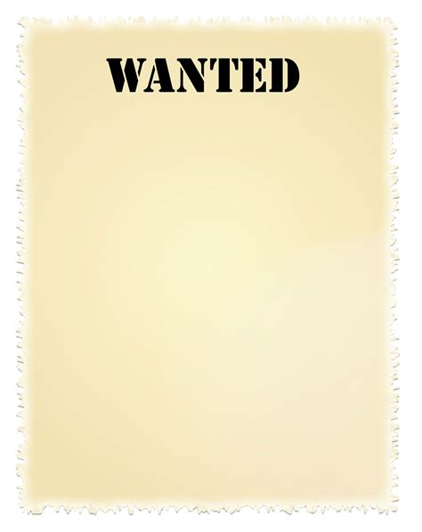 printable wanted poster background wanted sign clipart jaxstorm realverse us