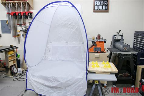 spray booth design diy how to make a diy spray booth turntable fixthisbuildthat