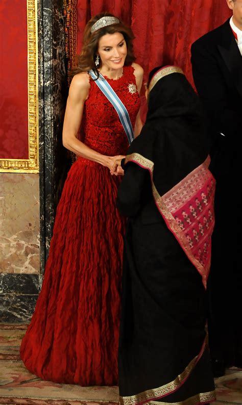 dinner host spanish royals host gala dinner honouring india president