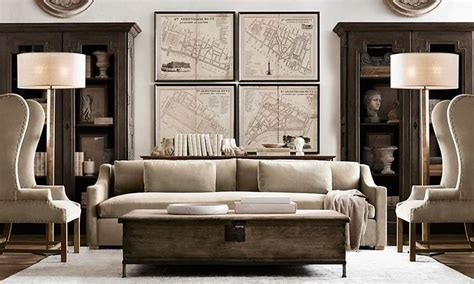 restoration hardware living room rooms restoration hardware home