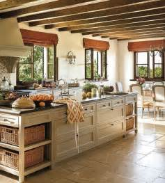 Charming This Old House Kitchen Island #1: Rustic-French-Kitchen.jpg
