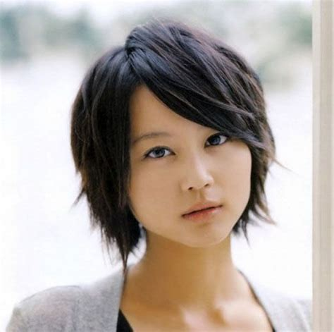 round face japanese haircut asian short hairstyles for round faces stylish pinterest