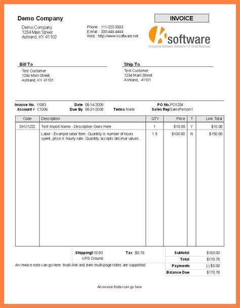 templates in microsoft word blank invoice template for microsoft word selimtd