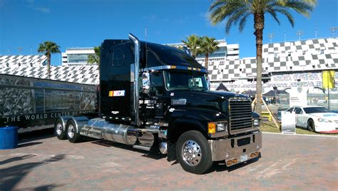 mack trucks mack trucks becomes the official hauler of nascar truck news