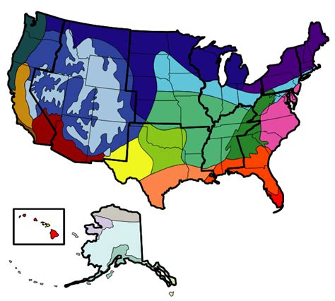 usa map climate zones free coloring pages of climate zone map