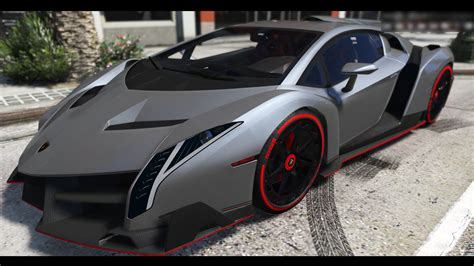 Gta V Lamborghini Veneno by 2013 Lamborghini Veneno Hq Add On Dials Gta5 Mods