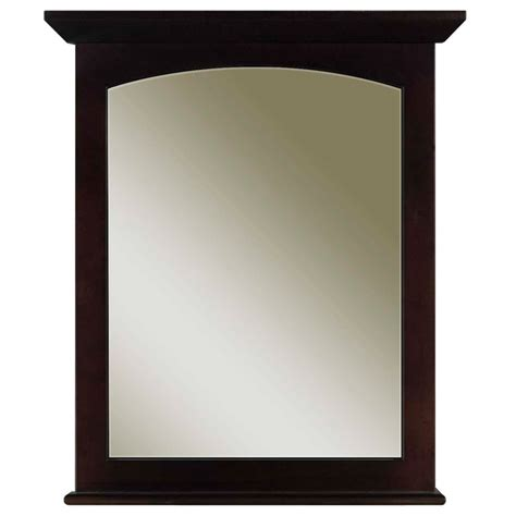 overstock bathroom mirrors water creation espresso bathroom vanity mirror