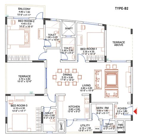 sobha jasmine floor plan sobha jasmine floor plan apartments in nibm kondwa pune
