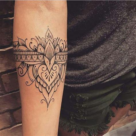 tattoo mandala bracelet ilovetattoobr auf instagram by lucasmilk simple