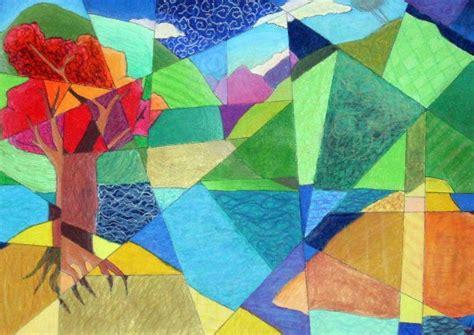 cubist landscape paintings cubist landscape by light and darkness24 on deviantart