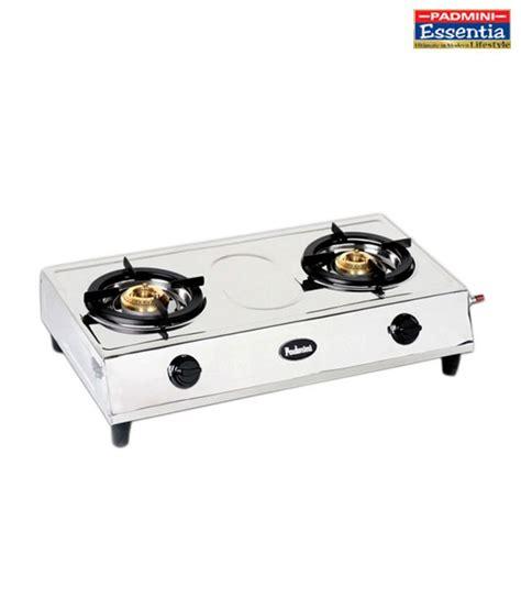 Two Burner Cooktop Padmini Cs 200 2 Burner Gas Cooktop Buy Snapdeal