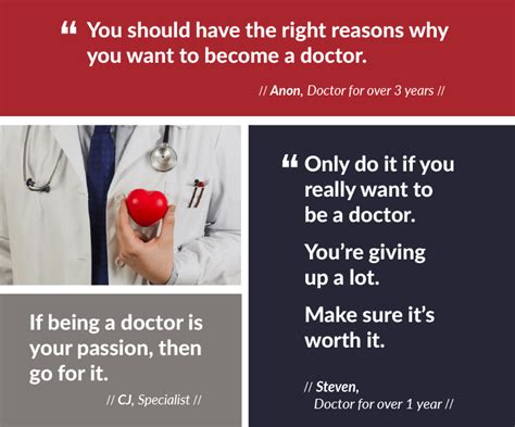doctors 5 pieces of advice to aspiring doctors